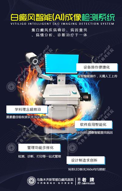 白癜风智能(AI)成像检测系统